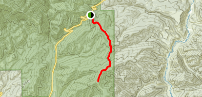 Bald Mountain via The Great Western Trail Map