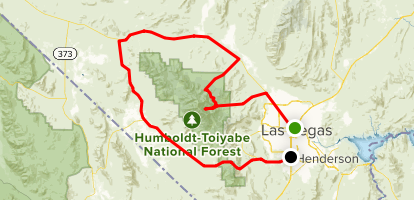 Humboldt-Toiyable National Forest Drive Map