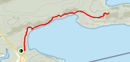 Finger Point trail Map