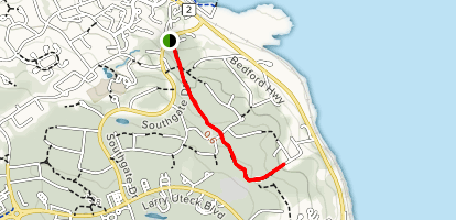 Old Coach Road Trail  Map