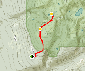 Trophy Meadows Trail Map