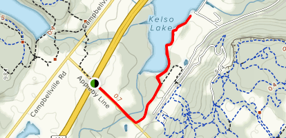 Bruce Trail- Iroquoia Section Map