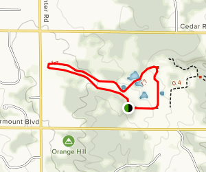 Cross Country Trail Loop Map