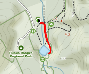 Hunua Falls Trail Map