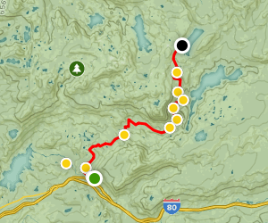 Fordyce Creek 4x4 Trail Map