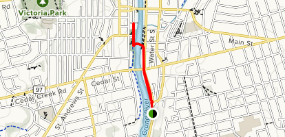 Living Levee Trail  Map