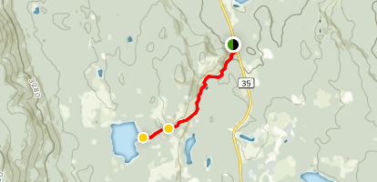Guyishton Lake Trail Map
