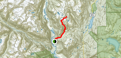 Tricouni Ridge Map