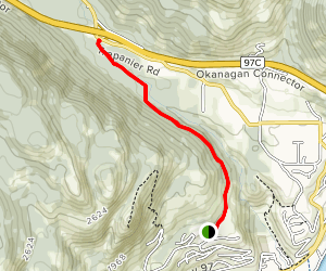 Trepanier Creek Trail Map