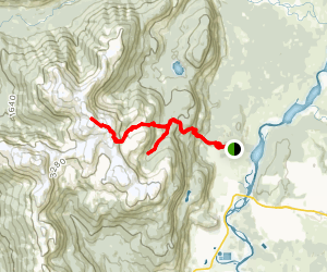 Clague Mountain Trail Map