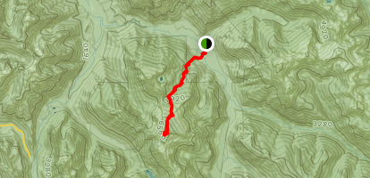 Sloan Peak Trail Map
