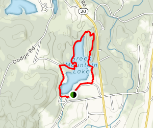 Green Mountain Lake Loop Map