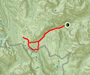 Healy Pass and Simpson Pass Loop Map