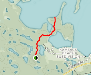 Pelly Point Nature Trail Map