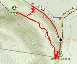 Witches Falls Circuit Map