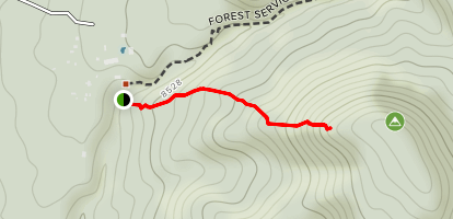Soldier Mountain Trail Map
