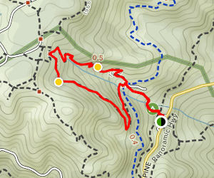 Bootjack and Easy Grade Loop Map