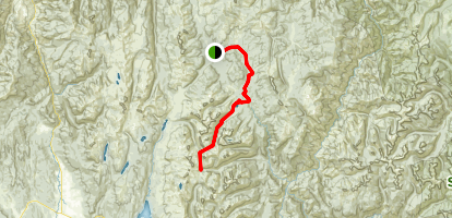 Ruby Meadows to Loon Lake to Duck Lake Map