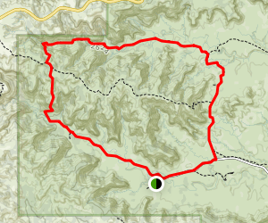 Upper Canyon Trail Loop Map