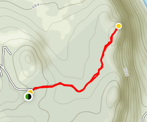 Bald Ledge Map