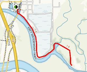 Ebey Slough Trail Map