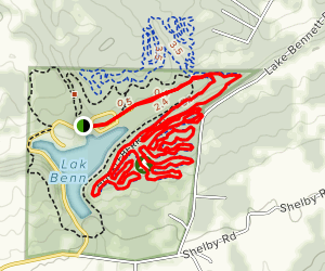 Enders Fault - South Section Map