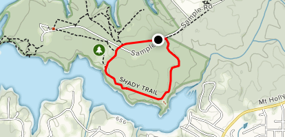 Shady Trail Map
