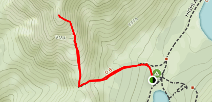 Folger Peak Map