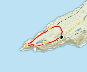 Sheep's Head Way: Lighthouse Loop  Map