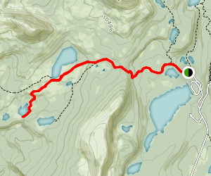 Weir Lake Map