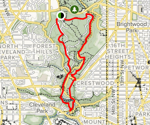 Western Ridge Trail, Rock Creek, Valley Trail Map