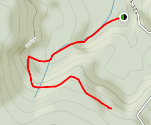 Putney Gulch to Ring the Peak Trail Map