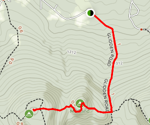 Mount Rand and Mount Klem Map