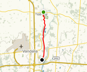 Tadmor Trail Map