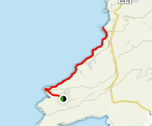Cliffs of Moher Coastal Trail  Map