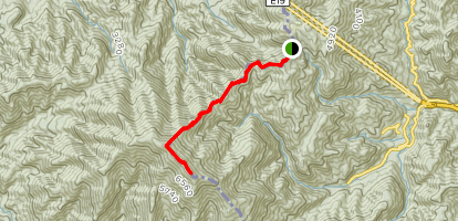 Mount Ena Map