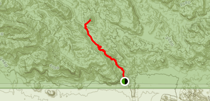 Weaver's Needle and Fremont Saddle via Peralta Canyon Trail Map