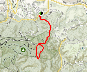 Madrone Trail and Earl Moser Trail Map
