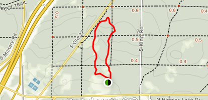 Upland Nature Trail Loop Map