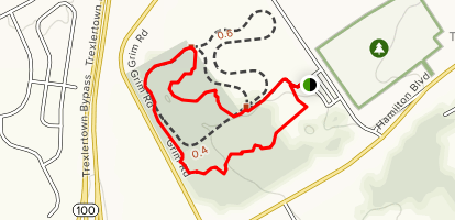 Rodale Cycle and Fitness Trail Map