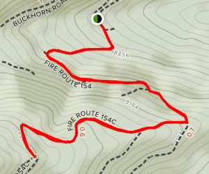 Fire Route 154 Map