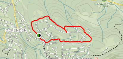 Granite Ridge Loop Map