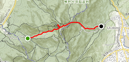Ansan Seoul Subway Map.Bukhansan Direct Peak Ascent Gyeonggi Do South Korea Alltrails