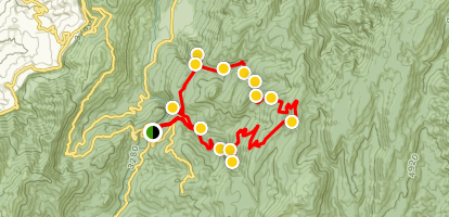 Puntal de Gollete Loop  Map
