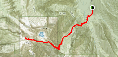 Vesper Peak Trail Map