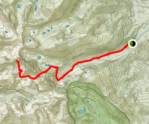 Crestone Peak Trail Map