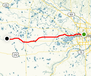 Luce Line Trail Map