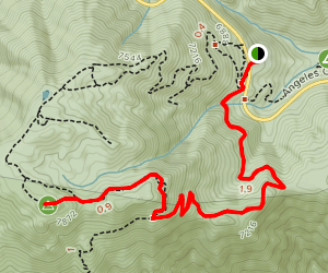 Waterman Mountain  Map