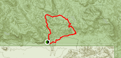 Dutchman and Bluff Springs Loop Map