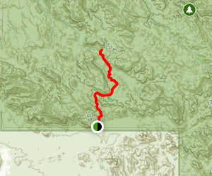 Bluff Spring Trail and Dutchman Canyon to Charlebois Canyon Map